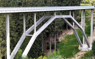 Ultrahochfester Beton: Wild-Brücke in Kärnten mit UHPC!