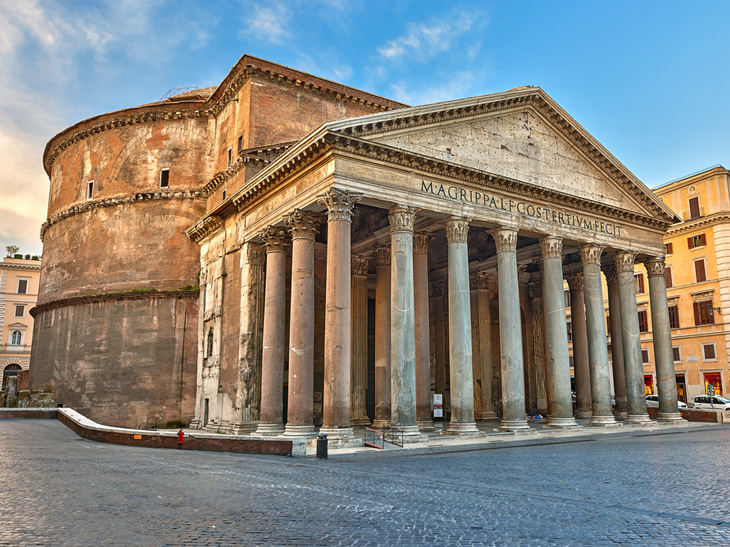 Schon die Römer vertrauten auf Werkstoff Beton