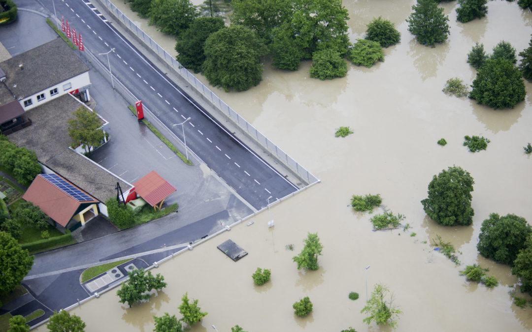 Betonfertigteile für Katastrophenschutz