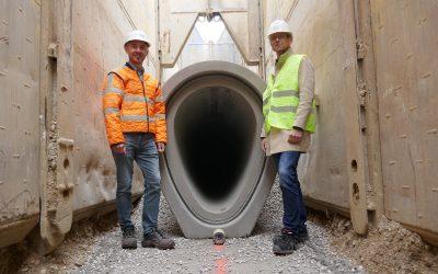 Schalungserhärtete Stahlbetonrohre: Verlässliche Stabilität in der Tiefe
